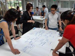 """Khóa học """"Kỹ năng giải quyết vấn đề"""" được Joshin triển khaicho các đối tượng trưởng phòng, phó phòng, trưởng nhóm, giám sát tại TAL Việt Nam."""