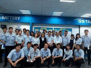 """Khóa học """" Quản lý chất lượng tổng thể (TQM)"""" được Joshin triển khai đào tạo tại Công ty TNHH Ắc Quy GS Việt Nam (ở Bình Dương)"""