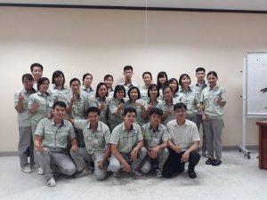 """Joshin đã tổ chức khóa học """"Kỹ năng lãnh đạo"""" cho quản lý cấp trung tại Shihen với sự tham gia của 20 học viên đến từ nhiều bộ phận, phòng ban của công ty."""