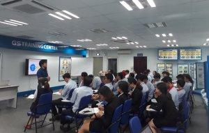 """Joshin mang tới khóa học 2 ngày về """"Kỹ năng thuyết trình"""" tại Công ty TNHH Ắc Quy GS Việt Nam."""
