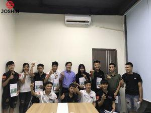 Joshin đã có chương trình đào tạo cho đội ngũ nhân viên Lovecar kiến thức về 5S và tầm quan trọng của 5S tại nơi làm việc