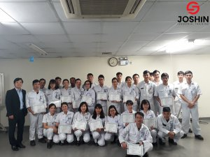 """Khóa học """"Kỹ năng lãnh đạo"""" được Joshin tổ chức đào tạo tại Công ty TNHH Keihin Việt Nam sẽ giúp học viên trang bị những kỹ năng lãnh đạo quan trọng, tạo ảnh hưởng và thúc đẩy mọi người hành động và nhanh chóng đạt được mục tiêu công việc."""