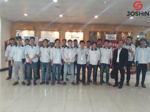 """Khóa học """"Bảo trì tổng thể TPM"""" được Joshin thực hiện đào tạo trực tiếp tại Công ty TNHH Hyundai Kefico Việt Nam giúp cho học viên có được cái nhìn tổng thể về TPM, cách thức triển khai TPM, thực hành triển khai TPM, chuẩn hóa hoạt động theo TPM."""